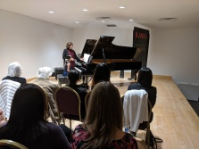 The International Music Academy masterclass